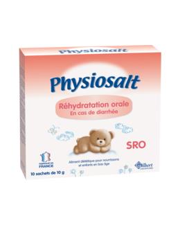 Physiosalt SRO - Sels de réhydratation orale