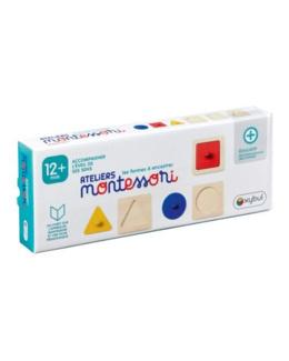 Trio de puzzles à encastrer Ateliers Montessori
