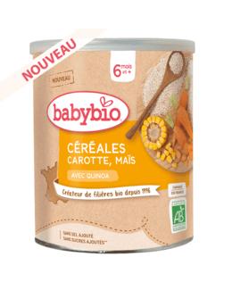 Céréales Carotte Maïs