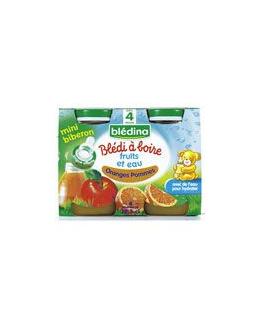 BLEDI A BOIRE Oranges pommes 4x12,5 cl dès 4 mois