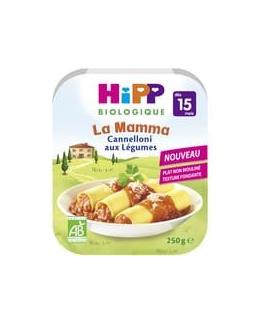 La Mama - Cannelloni aux légumes (Dès 15 mois)