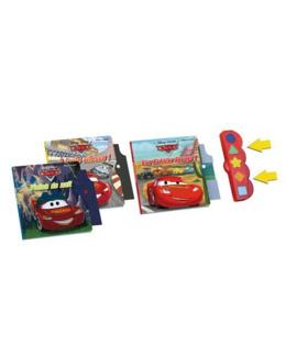 Coffret 3 livres interactifs Cars