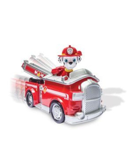 Marcus et son camion de pompier Pat' Patrouille