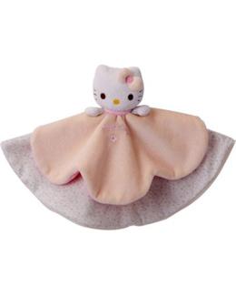 Doudou plat Hello Kitty