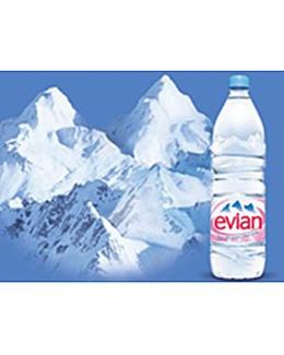 Eau minérale EVIAN 6x1,5l