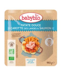 Patate douce Carotte des Landes Saumon