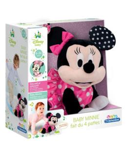 Baby Minnie fait du 4 pattes !