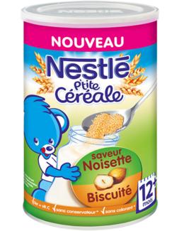 P'tite Céréale Noisette-Biscuité