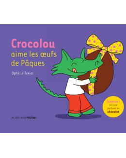Livre Crocolou aime les oeufs de Pâques