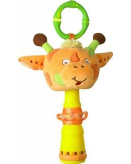 Hochet musical girafe