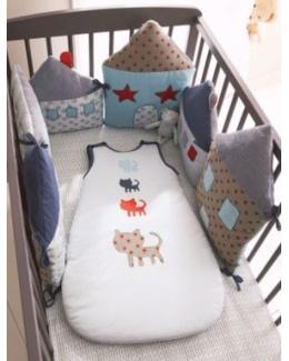 Tour de lit modulable bebe Miaou