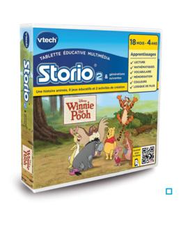 Jeu Storio : Winnie l'Ourson (dès 18 mois)