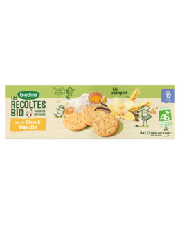 Mon 1er biscuit Vanille - Les Récoltes Bio