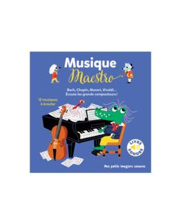 Livre sonore Musique Maestro !