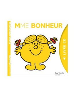 Livre-CD Madame Bonheur