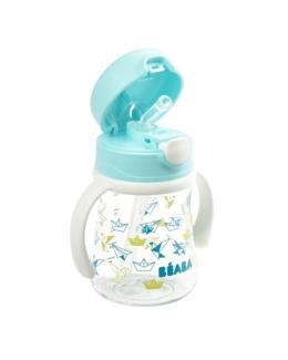 Tasse paille pour enfants avec poignées amovibles