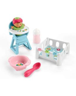 Jeux Little People Babies - L'heure du goûter et de la sieste