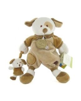 Doudou Marionnette Daffy Le Chien et son bébé