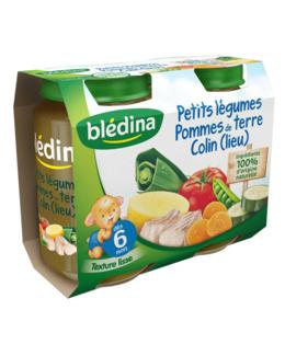 Pot Petits légumes Pommes de terre Colin 2x200g
