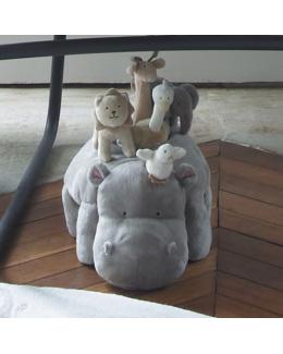 Peluche d'activité Hippopotame
