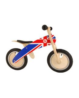 Draisienne moto bois