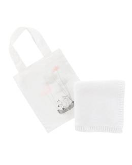 Plaid et sac en coton biologique Imagine