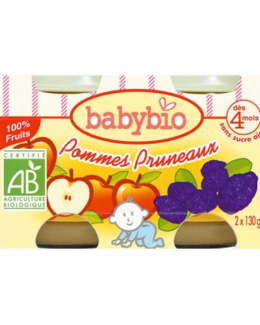BIO Pommes Pruneaux dès 4 mois