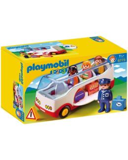 Playmobil 1.2.3 - Autocar de voyage