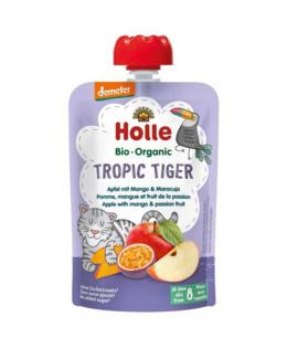 Gourde Tropic Tiger - pomme, mangue et fruit de la passion
