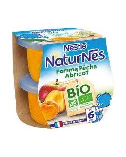 Naturnes Bio Pomme Pêche Abricot