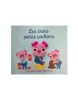 Livre marionnette Les trois petits cochons