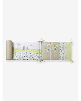 Tour de lit bébé brodé thème Pic-nic