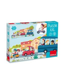 Puzzle XXL Véhicules