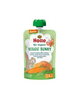 Veggie Bunny - Gourde carotte, patate douce et petit pois