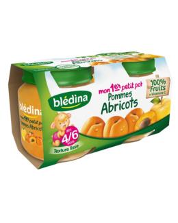 Mon 1er Petit Pot Pommes Abricots 2x130g