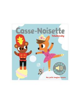 Livre sonore Casse-Noisette