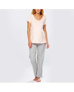 Pyjama long d'allaitement