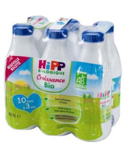Lait 3 COMBIOTIC® Croissance - 6 bouteilles x 1L - 10 mois