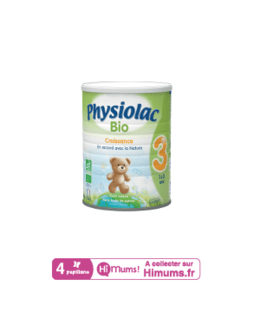 Lait Physiolac 3 Bio 900g