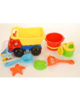 Camion avec jeux de sable