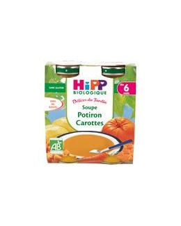Soupe aux potiron carottes 20 cl dès 6 mois