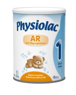 Lait en poudre Physiolac AR 1