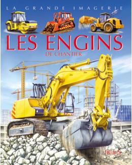 Livre Les engins de chantier