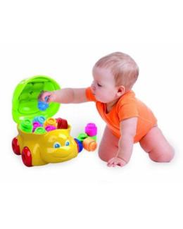 Cubes souples Baby Clemmy : Tortue 15 pièces
