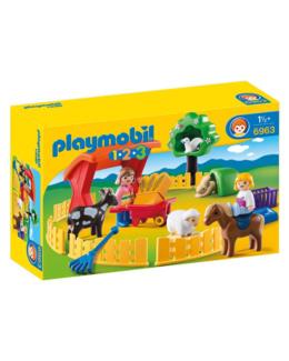 Playmobil 1.2.3 - Parc animalier