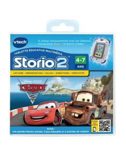 Jeu éducatif Storio 2 : Cars 2