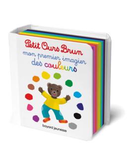 Livre Petit Ours Brun mon premier imagier des couleurs