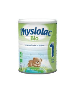 Lait Physiolac 1 Bio 900 g