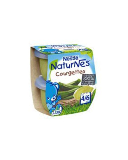NESTLE - Naturnes - Courgettes