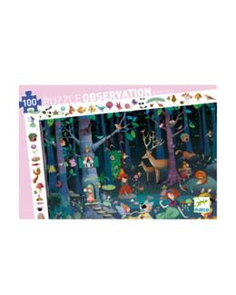 Puzzle observation La forêt enchantée 100 pièces